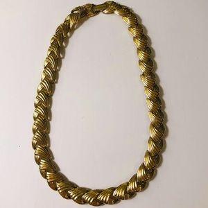 Vintage 70's Gold Necklace